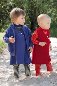 Kinderkleidung aus Bio-Baumwolle kbA und Schurwolle kbT