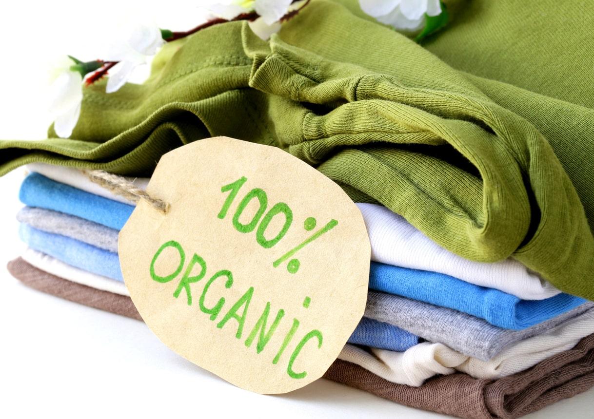 Kleidung aus Biobaumwolle