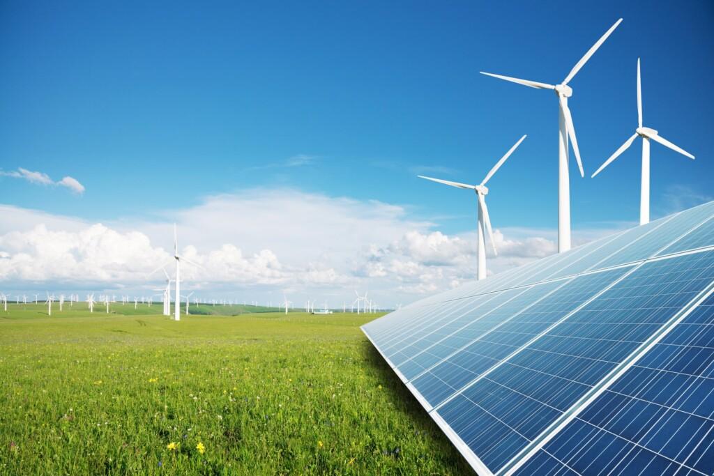 Wenn es um den Klimaschutz geht leisten die Erneuerbaren Energien einen wichtigen Beitrag