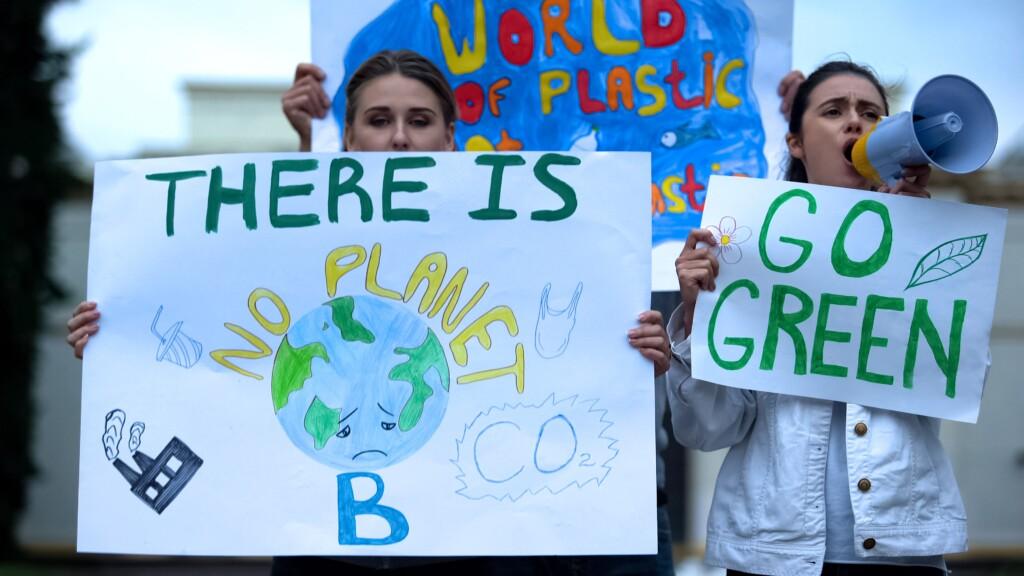 Weltweite Proteste gegen den Klimawandel