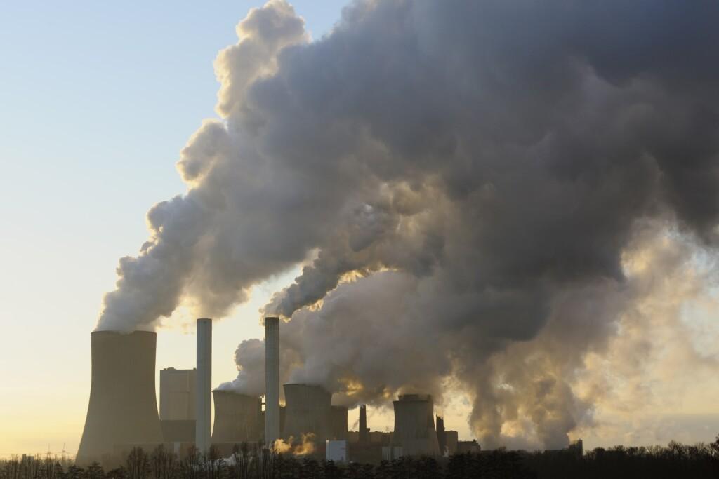 Verbrennung von Kohle