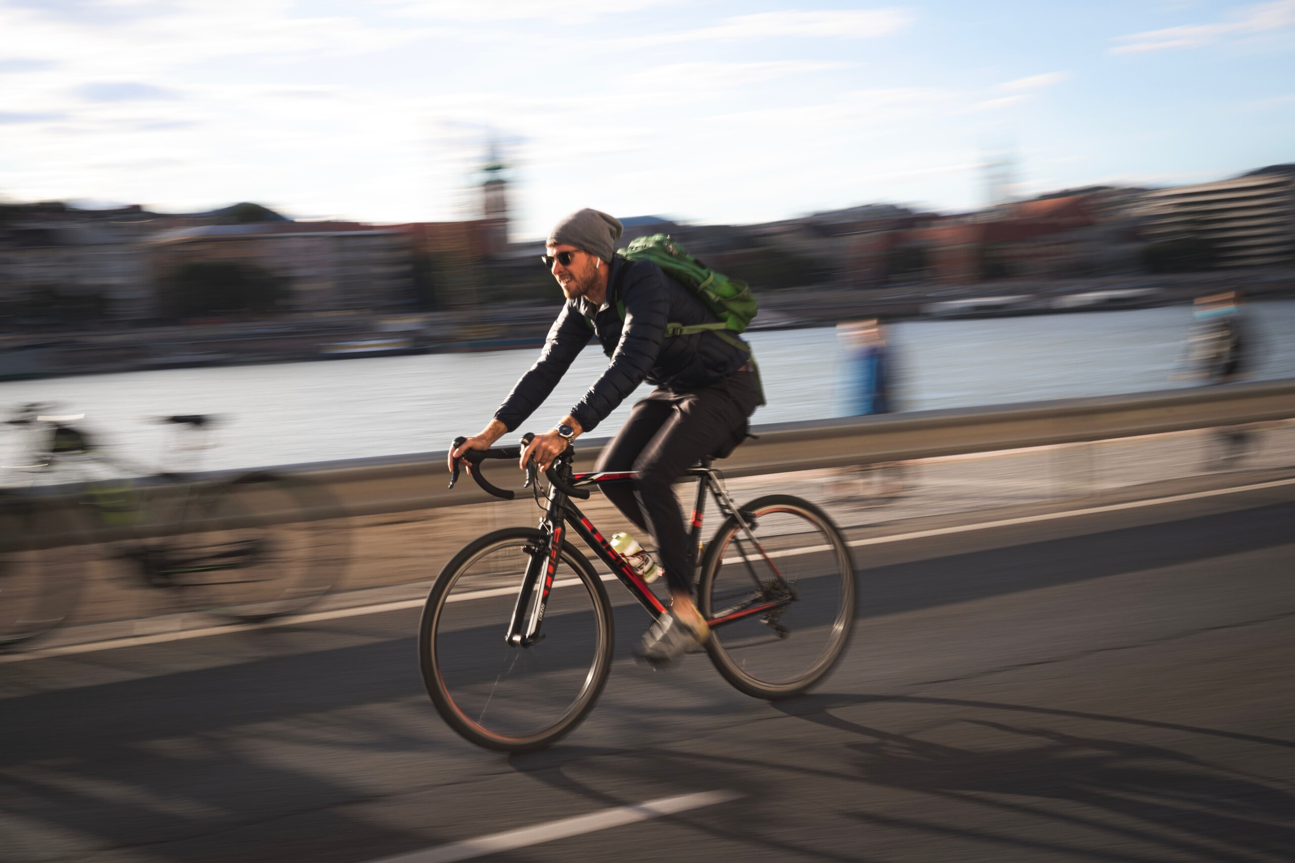 In der Stadt ist das Fahrrad in der Regel am schnellsten