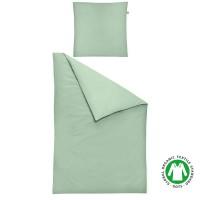 Irisette Bettwäsche-Set aus reiner Bio Baumwolle, in Farbe Mint