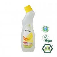 Almawin WC-Rreiniger Zitrone gegen Urin und Kalkablagerungen, für die Frische im Bad.