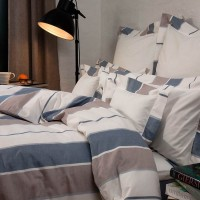 TrueStuff Bettwäsche / Deckenbezug Urban in Farbkombination Blau