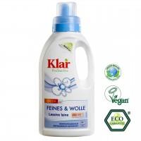 Ökologisches Wollwaschmittel von Klar, ohne Duftstoffe