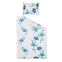 Hefel TENCEL® Bettwäsche Aquarelle Flower türkis