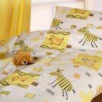 Cotnoea Kinderbettwäsche Afrika Gelb