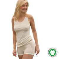 Engel Damen-Pants Mit Netz-Applikation
