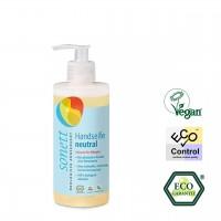 Sonett Handseife neutral, im Spender, für Allergiker geeignet, keine Duftstoffe, ökologisch