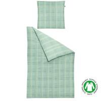 Bettwäsche aus 100 % Bio Baumwolle von Irisette in Farbe Mint