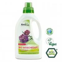 Bio Wäscheduft, gibt der Wäsche einen frischen, blumigen Duft, dermatologisch getestet, biologisch abbaubar.