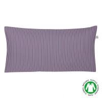 Kissenbezug aus Bio Baumwolle von Irisette - GOTS zertifiziert, Farbe Plum