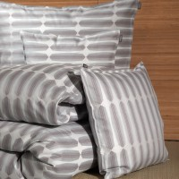 TrueStuff Bettdeckenbezug Octo Aqua aus 100% Bio Baumwolle