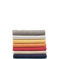 Bio Gäste-Handtuch in Waffelpikee, mit Schmuckbordüre