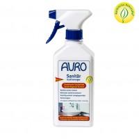 Auro Sanitär-Kraftreiniger in einer 0,5 Liter Sprühflasche. Ideal für Keramikoberflächen.