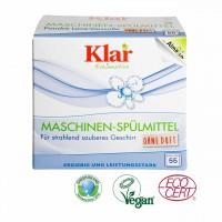 Klar Maschinen-Spülmittel-Pulver, ohne Duft, für Allergiker ideal