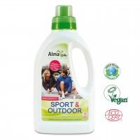 Ökologisches Sport-Funktions-Waschmittel mit Membranschutz, hautfreundlich, streng Schadstoff kontrolliert