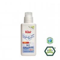 Bio-Gallseife als natürliches Fleckenmittel, mit praktischem Bürstenkopf zum Auftragen