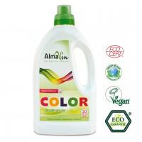 Waschmittel für Buntwäsche von 30-60°C mit Lindenblütenextrakt. Lange Farbfrische.