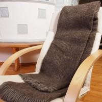 Decke aus skandinavischer Schurwolle