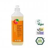 Sonett Orangen Kraftreiniger, löst hartnäckige Fett- und Ölverschmutzungen auf abwaschbaren Oberflächen, hautfreundlich