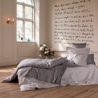 TrueStuff Bettdeckenbezug Helsinki in Grautönen